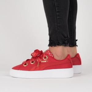 נעליים פומה לנשים PUMA Platform Kiss Ath Lux Wns - אדום