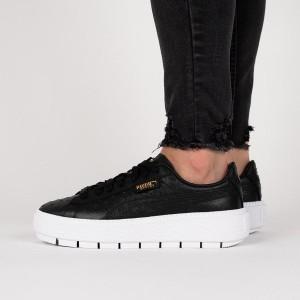 נעליים פומה לנשים PUMA Platform Trace Ostrich Wns - שחור