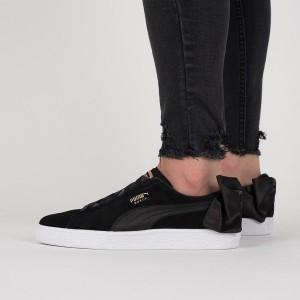 נעליים פומה לנשים PUMA Suede Bow Wns - שחור