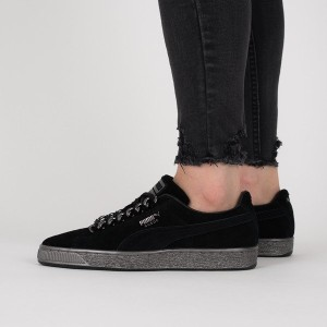 נעליים פומה לנשים PUMA Suede Classic X Chain - סגול/צבעוני