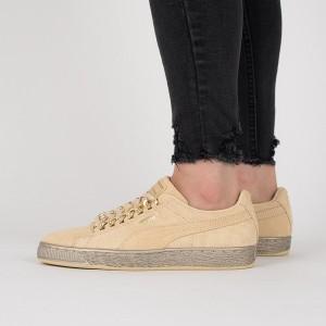 נעליים פומה לנשים PUMA Suede Classic X Chain - בז'