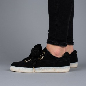 נעליים פומה לנשים PUMA Suede Heart Celebrate - שחור