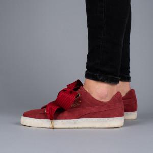 נעליים פומה לנשים PUMA Suede Heart Celebrate - אדום