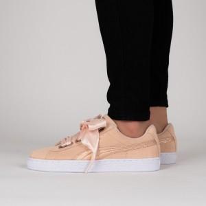 נעליים פומה לנשים PUMA Suede Heart LunaLux - אפרסק