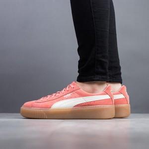 נעליים פומה לנשים PUMA Suede Platform SNK - כתום