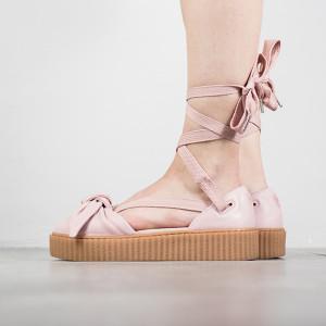 נעליים פומה לנשים PUMA X Fenty Rihanna Bow Creeper Sandal - ורוד