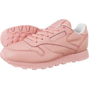 נעליים ריבוק לנשים Reebok CL LTHR PASTELS  - ורוד
