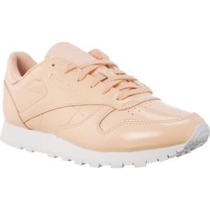נעליים ריבוק לנשים Reebok CL LTHR PATENT  - ורוד