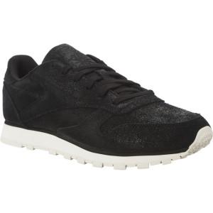 נעליים ריבוק לנשים Reebok CL LTHR SHIMMER - שחור