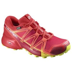 נעלי טיולים סלומון לנשים Salomon W Terenie Speedcross Vario 2 Gtx Goretex - ורוד