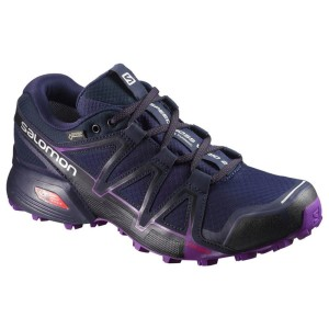 נעלי טיולים סלומון לנשים Salomon W Terenie Speedcross Vario 2 Gtx Goretex - כחול