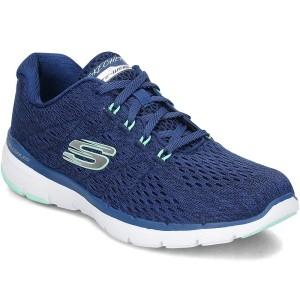נעלי אימון סקצ'רס לנשים Skechers Flex Appeal 30 Satellites - כחול