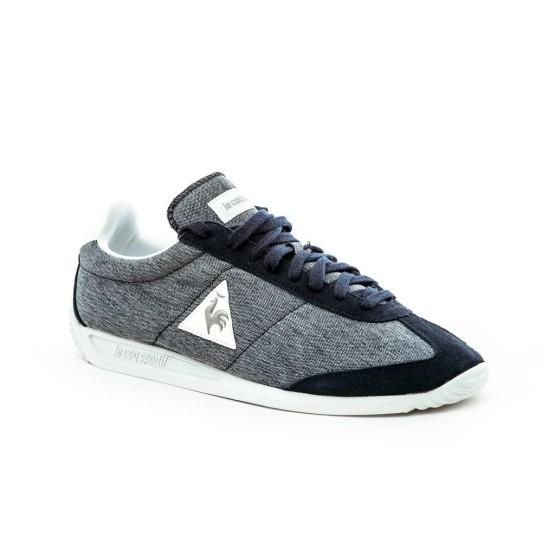 נעליים לה קוק ספורטיף לגברים Le Coq Sportif QUARTZ CRAFT dress blue old silver - אפור/כחול
