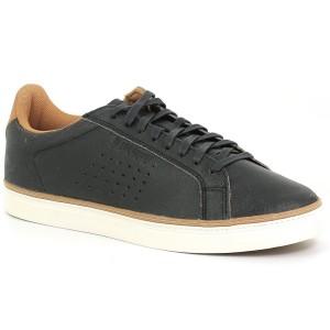 נעליים לה קוק ספורטיף לגברים Le Coq Sportif COURTACE PREMIUM black brown - שחור