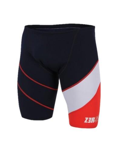בגדי ים זארוד לגברים ZEROD JAMMER DARK - שחור/אדום