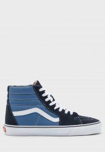 נעלי סניקרס ואנס לגברים Vans Sk8-Hi - כחול