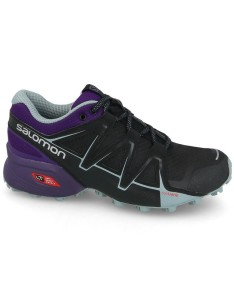 נעלי טיולים סלומון לנשים Salomon Speedcross Vario - שחור/סגול