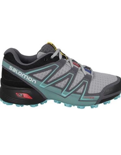 נעלי טיולים סלומון לנשים Salomon Speedcross Vario - אפור/טורקיז