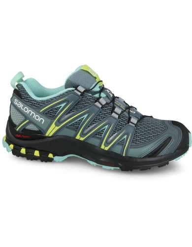 נעלי טיולים סלומון לנשים Salomon Xa Pro 3D - ירוק
