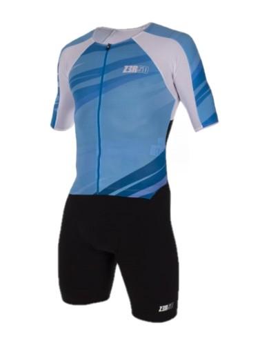 בגדי ים זארוד לנשים ZEROD TT SUIT - כחול/שחור