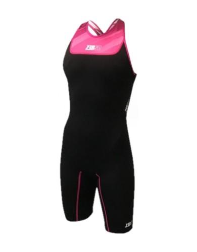 בגדי ים זארוד לנשים ZEROD START - שחור/ורוד