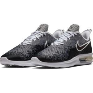 נעליים נייק לגברים Nike Air Max Sequent 4 - שחור/לבן