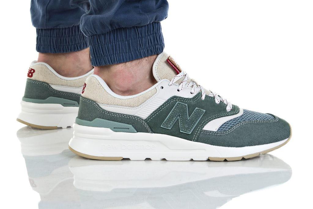 נעליים ניו באלאנס לגברים New Balance CM997 - ירוק כהה