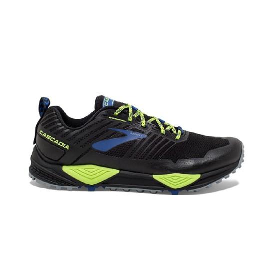 נעליים ברוקס לגברים Brooks Cascadia 13 - שחור/צהוב