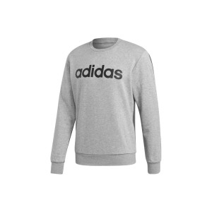 ביגוד אדידס לגברים Adidas E CB CREW FT - אפור