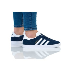 נעליים Adidas Originals לנשים Adidas Originals GAZELLE - כחול/לבן