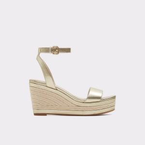 נעלי עקב גבוהות אלדו לנשים ALDO Laledith - זהב