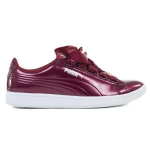 נעליים פומה לנשים PUMA Vikky Ribbon Patent - בורדו