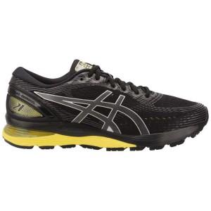 נעליים אסיקס לגברים Asics Gel-Nimbus 21 - שחור/צהוב