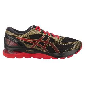 נעליים אסיקס לגברים Asics Gel-Nimbus 21 - שחור/אדום