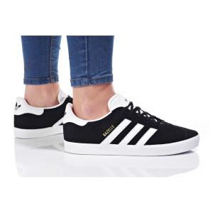 נעלי סניקרס אדידס לנשים Adidas Originals GAZELLE - שחור/לבן