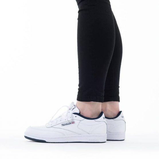 נעלי סניקרס ריבוק לנשים Reebok Club C - לבן/ כחול