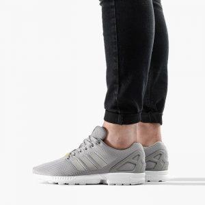 נעלי סניקרס אדידס לגברים Adidas Originals  Zx Flux - אפור