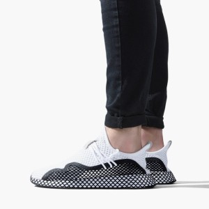 נעליים Adidas Originals לגברים Adidas Originals Deerupt S - לבן/שחור