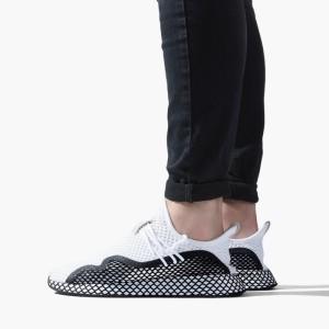 נעליים Adidas Originals לגברים Adidas Originals Deerupt S - לבן/שחור