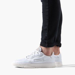 נעליים Adidas Originals לגברים Adidas Originals Super Court Premiere - לבן