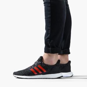 נעליים אדידס לגברים Adidas Ultraboost - שחור/אדום