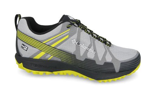 נעלי טיולים קולומביה לגברים Columbia Conspiracy V - אפור/צהוב