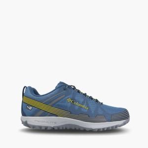 נעלי טיולים קולומביה לגברים Columbia Conspiracy V - כחול/צהוב