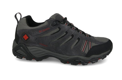 נעלי טיולים קולומביה לגברים Columbia North Plains II Waterproof - אפור
