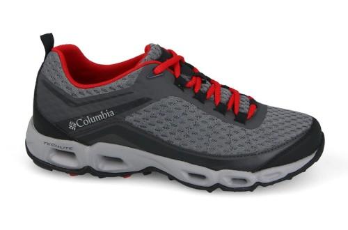 נעלי טיולים קולומביה לגברים Columbia Ventastic 3 - אפור/אדום