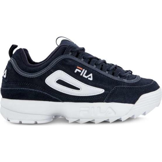 נעליים פילה לגברים Fila DISRUPTOR S LOW 29Y - כחול כהה