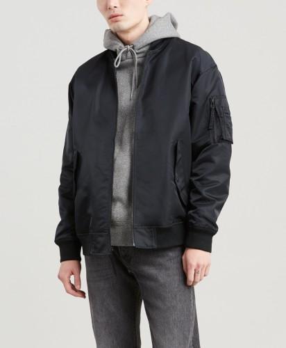 בגדי חורף ליוויס לגברים Levi's Jacket Levis - שחור