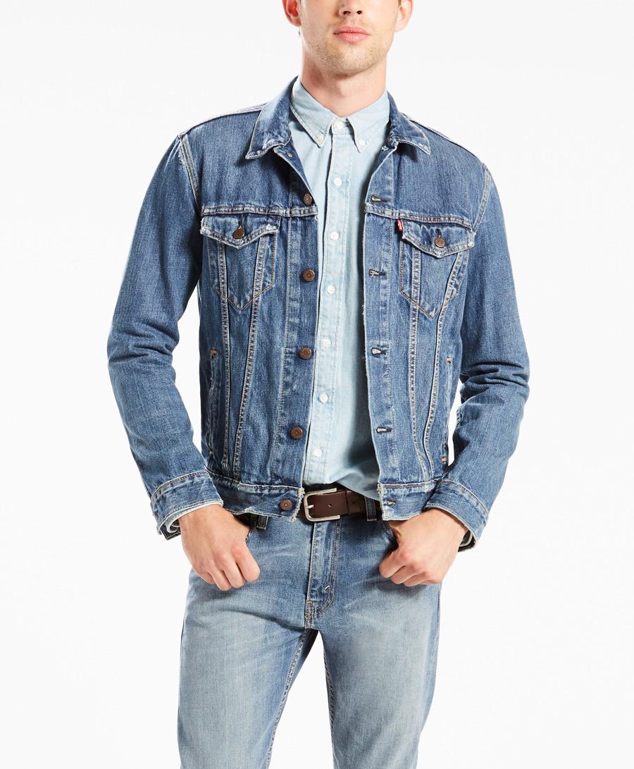 בגדי חורף ליוויס לגברים Levi's The Trucker - כחול