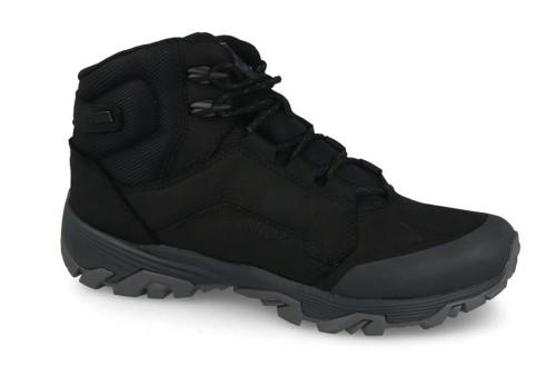 נעלי טיולים מירל לגברים Merrell  Coldpack Ice Mid WATERPROOF - שחור