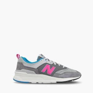 נעליים ניו באלאנס לגברים New Balance CM997 - אפור/כחול